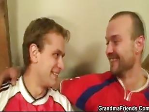 Granny Fucked By Football...