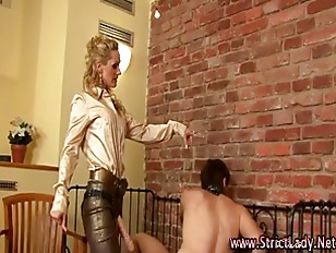 Femdom Ass Gets Fisted...