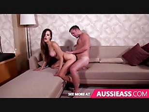 Aussie chick gets some treat