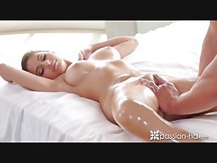 Morning massage and fuck with beautiful Nina North