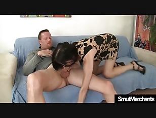 Mature Woman Swallows Cock...