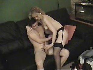 Sexy Blonde Milf Sucking...