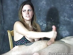 Picture Mistress Masturbates Slaves Penis In A Painf...