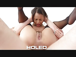 HOLED Petite Holly Hendrix...