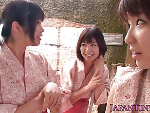Tiny Japanese Babes Sharing...
