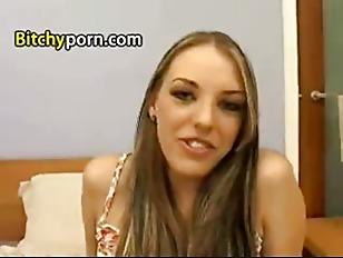 Skinny long blonde girl tube — photo 2