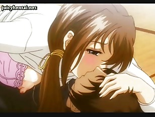 Voluptuous Anime Pleasuring Herself...