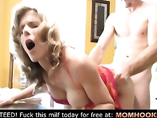 Unexpected threesome with daughter and mom!!