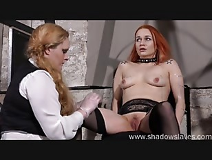 Lesbian play piercing punishment and extreme amateur bdsm of Dirty Mary in needle torture and hardcore masochist enslaved by cruel femdom sadist