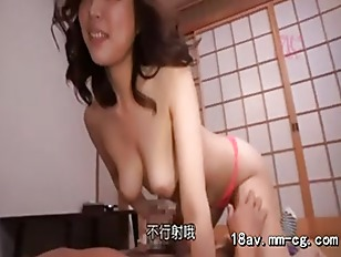 Japanese beauty gets horny...