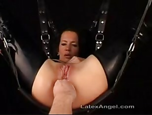Mature wife in bondage fisted