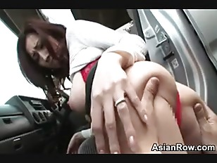 Asian girl fucked in the car asianvideosx com