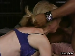 Picture Nina Hartley And Her Interracial Lover