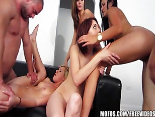 An all girls game of truth or dare turns into a suck & fuck orgy
