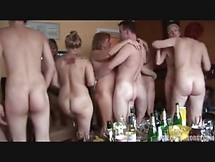 Mature home orgy party...