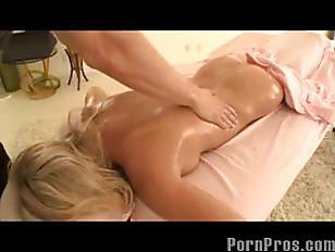 Massaging Her Sensitive Spot...