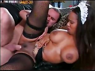 Sexy black maid porn