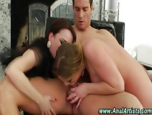 Ass Fucking Threesome Toy...