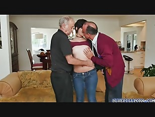 Taking two cocks at once
