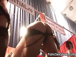 Picture Nasty Strippers Go Wild In Front Of Cam