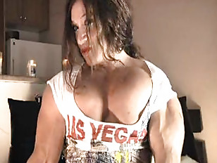 Muscle MILF With Huge...