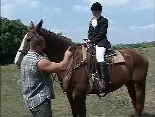 Cutie Equestrian Girl...