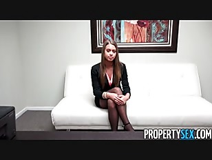 Young real estate agent job inter...