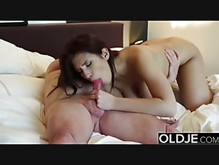 Young Girl With Big Boobs Gets Pussy Fucked By Horny Grandpa