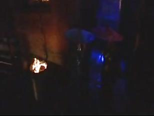 Pornstars fuck in an alley in the rain