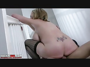 Picture Busty Young Girl 18+ Cock Riding On Stairs