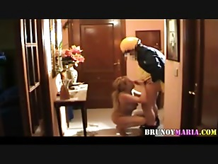blonde milf gets fuck from behind