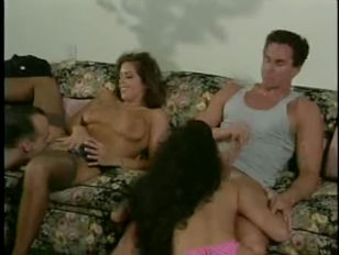 Picture Nici Stirling And Peter North In A Foursome