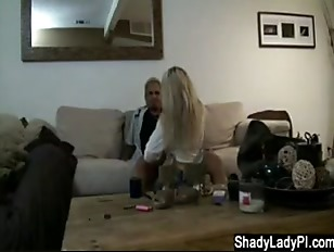 Sexy Blonde Caught Cheating...