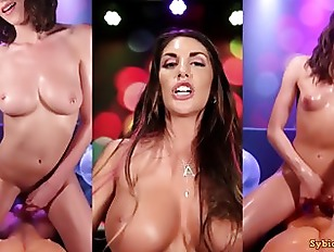 Video Wall - Hot Sex POV Cowgirl Compilation - August Ames
