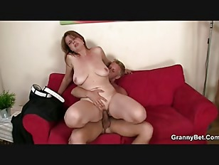 Busty bitch enjoys riding...