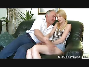 Picture Ginger Innocently Looks At Her Older Lover S...