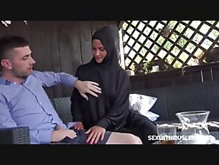 SexWithMuslims – Hot Wife in Hijab Pleasing Her Husban's Dick
