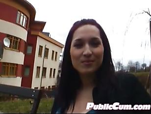Picture Dangerous Pornostar Has Public-Sex In Budape...