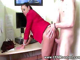 Picture Two Office Sluts Order Good Fucking From Two...