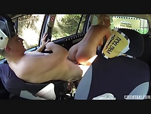 Blonde Has Sex With Taxi Driver - Karol Lilien
