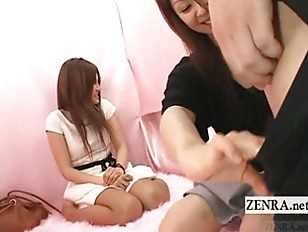 Picture Subtitled CFNM Japanese Interview Surprise P...