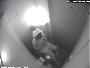 Picture Spycam Catches Hottie Rubbing In The Toilet