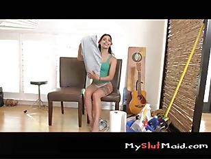 Picture Brazillian Maid Sucks And Fucks P1