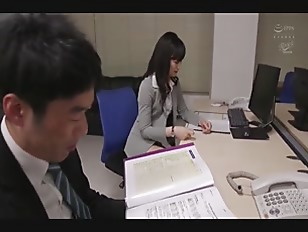 Tall Japanese Office Lady