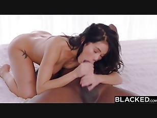 BLACKED Megan Rain Meets...