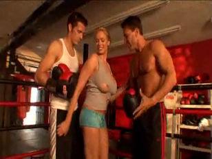 Pornstar boxing ring