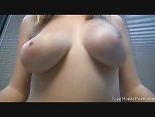 Picture Cute Blonde With Huge Natural Melons