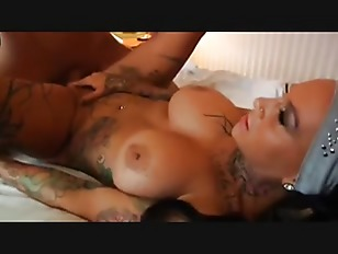 Hardcore Hot Tattooed German...