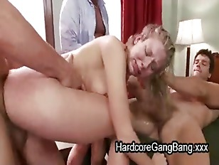 Manhandled Blonde Fucked By...