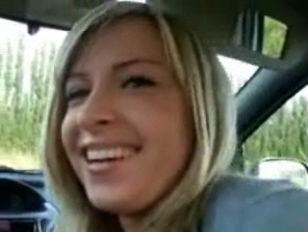 Remarkable idea gorgeous girlfriend driver seat blowjob assure